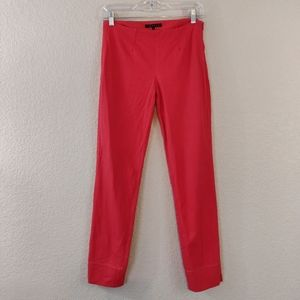 Theory Belisa Red Pants 0